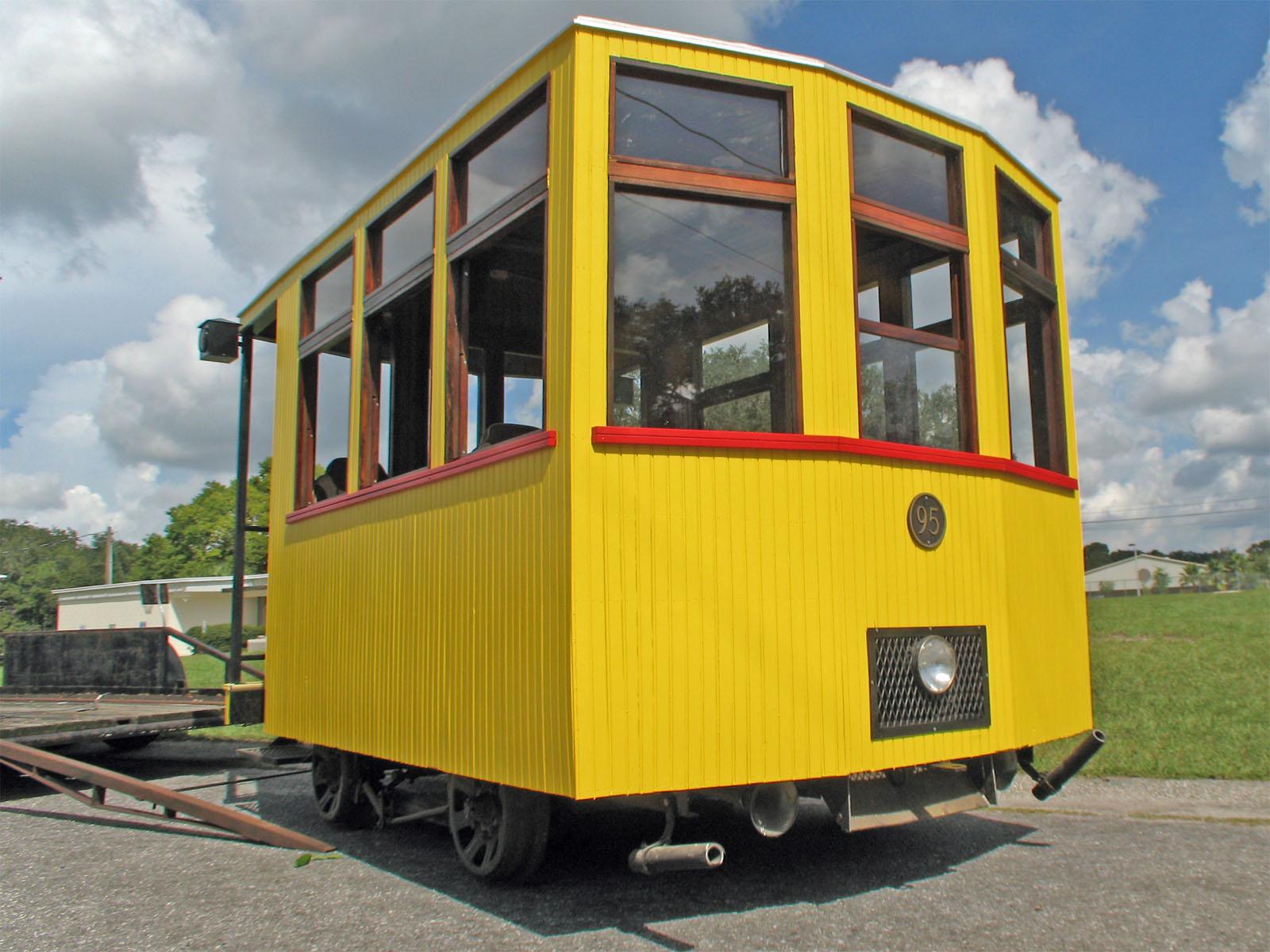 Trolley Car: John Meier's Trolley Car